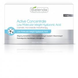 Bielenda Aktywny koncentrat z niskocząsteczkowym kwasem hialuronowym 10x3 ml