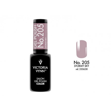 Victoria Vynn Salon Gel Polish COLOR kolor: No 205 Stormy Sky