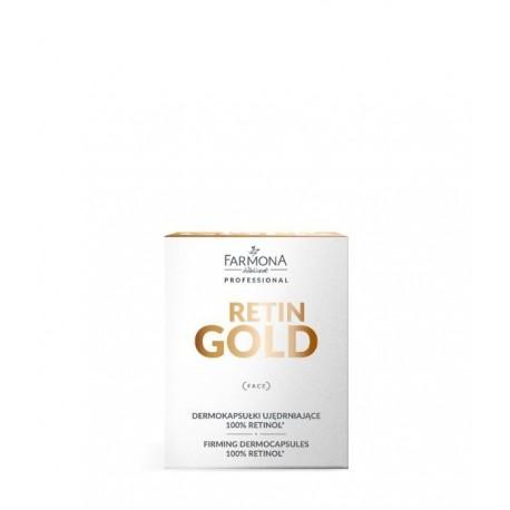 Farmona Retin Gold Dermokapsułki ujędrniające 100% retinol 15szt