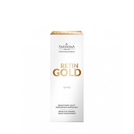 Farmona Retin Gold Bioaktywny złoty koncentrat napinający 30ml
