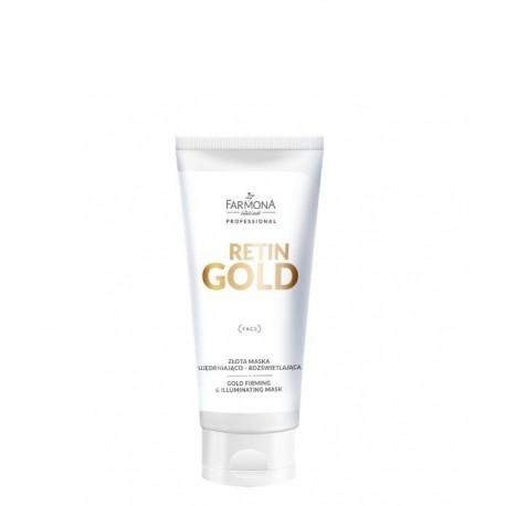 Farmona Retin Gold Złota Maska ujędrniająco - rozświetlająca 200ml