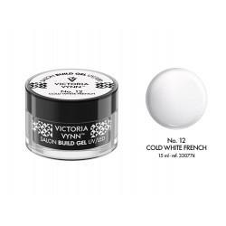 Victoria Vynn - SALON BUILD GEL Cold White French No. 12 - 15 ml