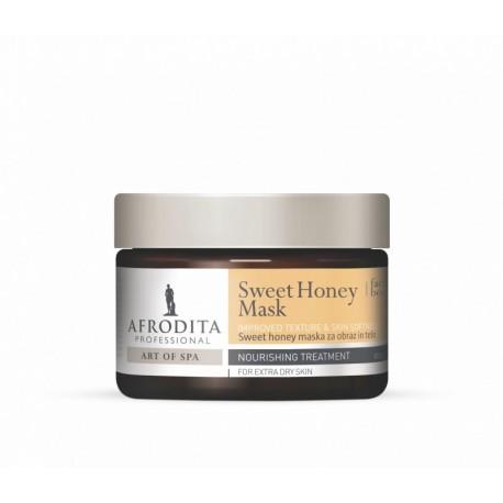 Afrodita - Maska miodowa do twarzy i ciała