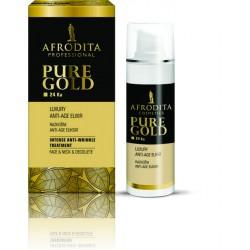 Afrodita - Pure Gold - Eliksir rozświetlający Anti-Age 30ml