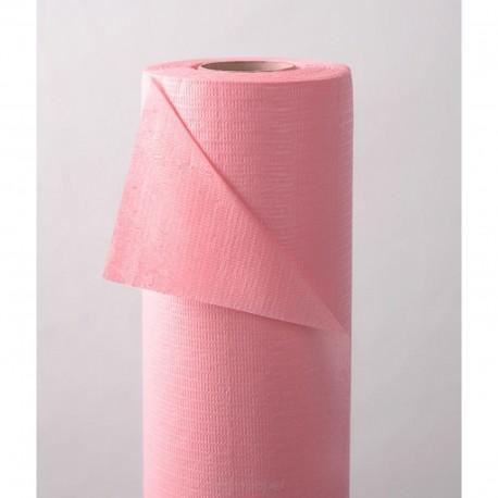 Podkład podfoliowany szer.50 cm różowy x 50 metrów