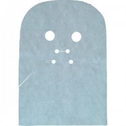 Maska zabiegowa na twarz i szyję, z gazy, 50szt
