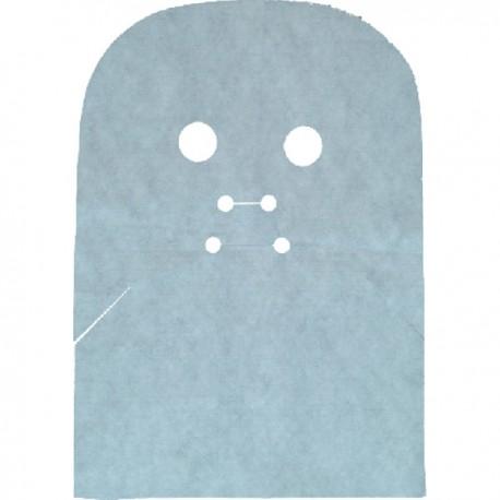 Maska zabiegowa na twarz i szyję, z włókniny, 50szt.