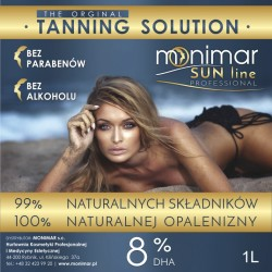Monimar SUN LINE PROFESSIONAL, Barwnik LIGHT 8%, 1000ml