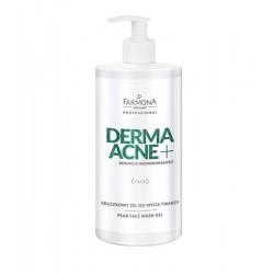 Farmona Dermaacne+ Gruszkowy żel do mycia twarzy z kwasami AHA 500ml