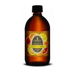 Afrodita, Citrus Mix - olejek do masażu ciała 500 ml