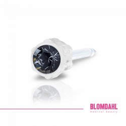 Blomdahl Kolczyki 4 mm Black Diamond