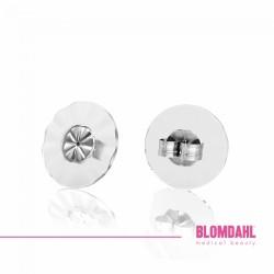 Blomdahl, Duże zatyczki do tytanowych kolczyków (1 para)