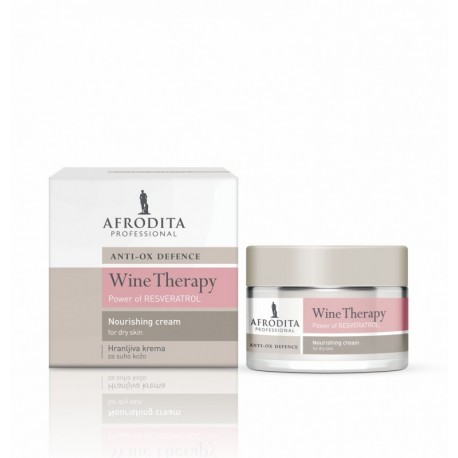 Afrodita Winoterapia - Krem odżywczy z winem na noc 50ml