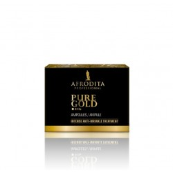 Afrodita - Pure Gold - Luksusowe ampułki ze złotem 5 x 1,5ml