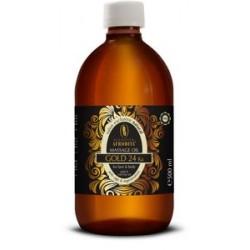 Afrodita - Pure Gold - Olejek do masażu twarzy i ciała ze złotem 500ml