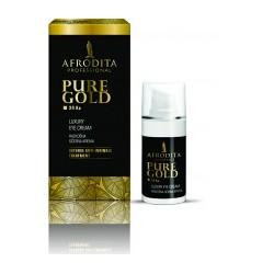Afrodita Gold 24 Ka - Krem pod oczy ze złotem 15ml