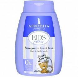 KIDS NATURAL- Szampon do włosów i ciała LUCKY MOMENTS