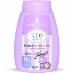 KIDS NATURAL- Szampon do włosów i ciała z balsamem SWEET MOMENTS