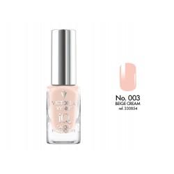 Lakier klasyczny Nail Polish IQ Beige Cream 9 ml (003) VICTORIA VYNN