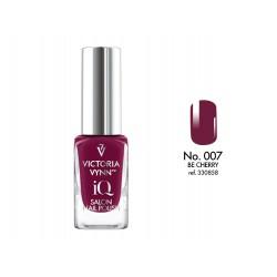 Lakier klasyczny Nail Polish IQ Be Cherry 9 ml (007) VICTORIA VYNN