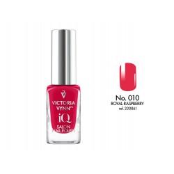 Lakier klasyczny Nail Polish IQ Royal Raspberry 9 ml (010) VICTORIA VYNN