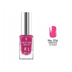 Lakier klasyczny Nail Polish IQ Sheer Pink 9 ml (014) VICTORIA VYNN