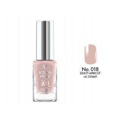 Lakier klasyczny Nail Polish IQ Dusty Apricot 9 ml (018) VICTORIA VYNN
