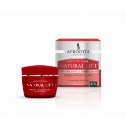 Afrodita Natural Lift 40+ Krem przeciwzmarszczkowy dla skóry suchej 50 ml