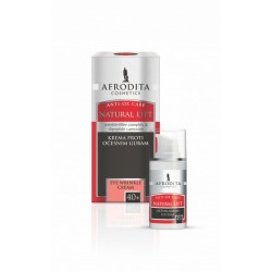 Afrodita Natural Lift 40+ Przeciwzmarszczkowy krem pod oczy 15 ml