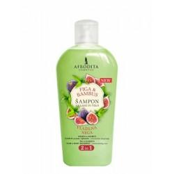 Afrodita Figa&bambus - Żel do mycia ciała i włosów