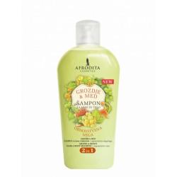 Afrodita Winogrona&miód - Żel do mycia ciała i włosów