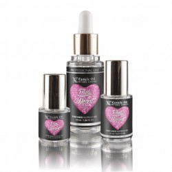 Nails Company, OLIWKA DO SKÓREK - PINK HEART 15 ML