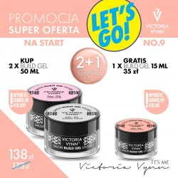 HOT PROMO 2 X BUILD GEL + GRATIS 1 X BUILD GEL VICTORIA VYNN