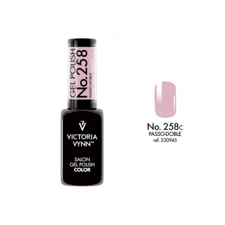 GEL POLISH LAKIER HYBRYDOWY PASSO-DOBLE 8 ML (258) VICTORIA VYNN