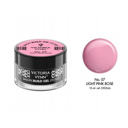 ŻEL BUDUJĄCY LIGHT PINK ROSE 15 ML (007) VICTORIA VYNN