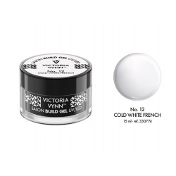 ŻEL BUDUJĄCY COLD WHITE FRENCH 15 ML (012) VICTORIA VYNN