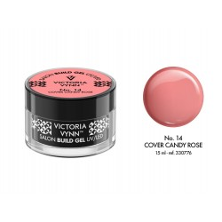 ŻEL BUDUJĄCY COVER CANDY ROSE 15 ML (014) VICTORIA VYNN
