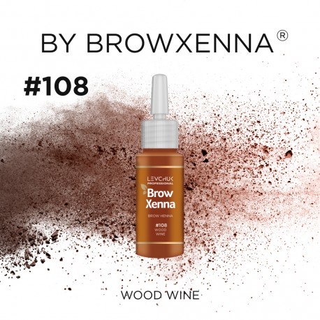 BrowXenna 108 Wood Wine