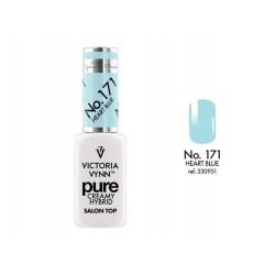 PURE Lakier hybrydowy Heart Blue 8 ml (171) Victoria Vynn
