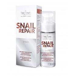 Farmona SNAIL REPAIR Aktywny koncentrat odmładzający ze śluzem ślimaka 30ml
