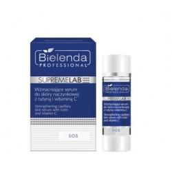 Bielenda SUPREMELAB - S.O.S Wzmacniające serum do skóry naczynkowej z rutyną i witaminą C 15ml