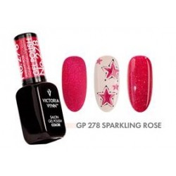 Gel Polish 278 Sparkling Rose 8ml