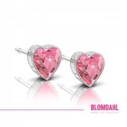 Blomdahl, Heart Light Rose 6 mm SFJ