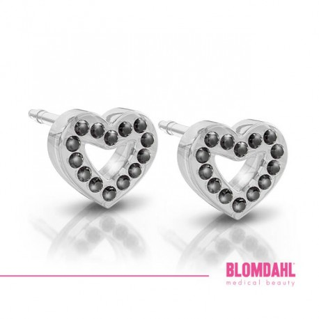 Blomdahl, BRILLIANCE HEART HOLLOW JET 10 m SFJ