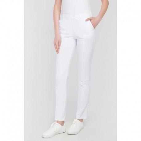 Spodnie rurki Cindy białe r. 38