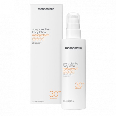 Mesoestetic mesoprotech® sun protective body lotion 200ml