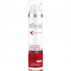 Bielenda post treatment care - cover cream tonująco-łagodzący krem do twarzy 100 ml