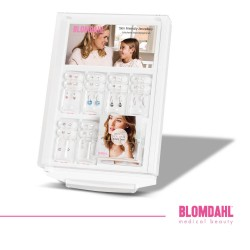 Blomdahl Display ekspozytor (biały, max 30 par kolczyków)