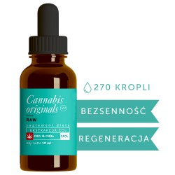 Olejek CBD CO2 RAW 10% 10ml Cannabis originals