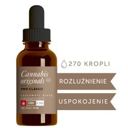 Olejek CBD PRO Classic 2,5% 10ml Cannabis originals